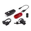 CatEye GVOLT25/OMNI3G Beleuchtungsset EL360GRC/LD135G schwarz